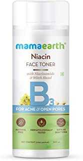 Mamaearth Niacin Toner For Face, with Niacinamide & Witch Hazel for Acne and Open Pores - 200 ml
