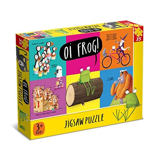 Oi Frog 35 Piece Rompecabezas, Color Amarillo (Paul Lamond Games 7335)