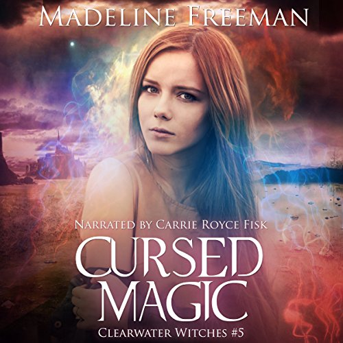 Cursed Magic audiobook cover art