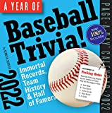 A Year of Baseball Trivia! Page-A-Day Calendar 2022