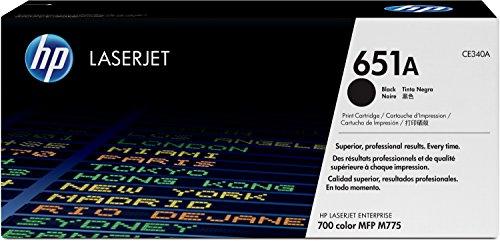 HP 651A (CE340A) Schwarz Original Toner für HP Laserjet Enterprise M775