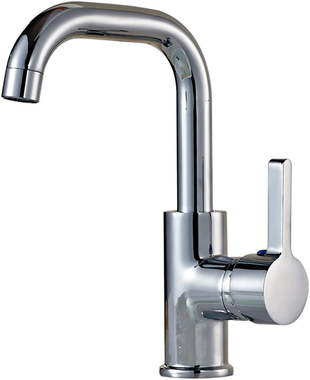 ETERNAL QUALITY Bad Waschbecken Wasserhahn Warmes Und Kaltes Bassinhahnbassinbadezimmerwaschbeckenhahnuniversal, Das Hhehahn Dreht