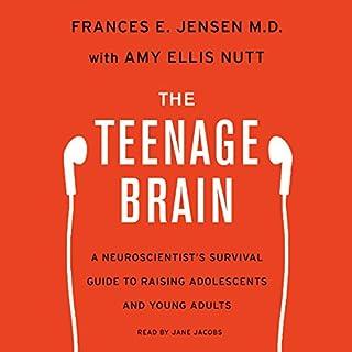 The Teenage Brain audiobook cover art