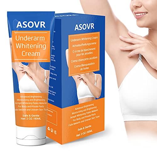 Blanqueador de Axilas Natural, Crema Aclaradora Skin Lightening, Aclarante de