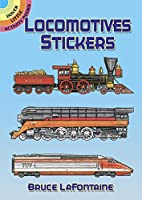 Locomotives Stickers (Dover Little Activity Books Stickers)