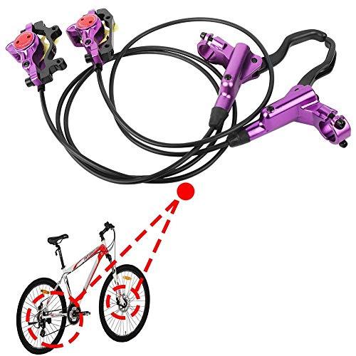 SolUptanisu Hydraulisch Fahrrad vorne/hinten Scheibenbremsen Set Mountainbike Hydraulische Scheibenbremsen Bremssattel - 5