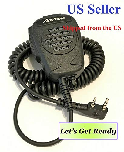 Best Deals! AnyTone Speaker MIC for AT-D878/868 Series DMR/Analog Radio, Also for Kenwood K Type Con...