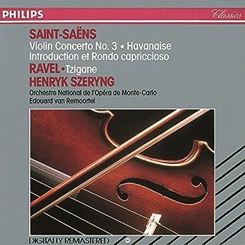 Saint-Saëns/Ravel: Violin Concerto No. 3/Havanaise/Introduction Et Rondo Capriccioso