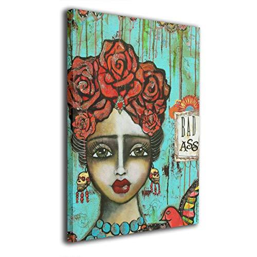 Pintura C Frida Kahlo Mexicana Folk Wall Art Pinturas