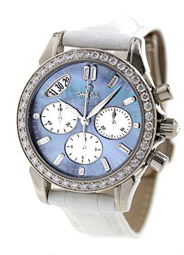 [オメガ]OMEGA デビル クロノグラフ 35MM 腕時計 レディース 4679.72.36自動巻き ブルーシェル [並行輸入品]