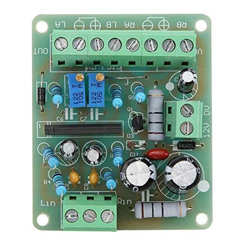 Amplificador de potencia - TA7318P DC 12V Amplificador de potencia VU Meter Driver Board DB Audio Level Meter
