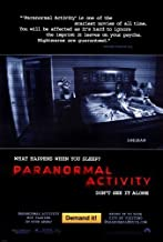 Paranormal Activity POSTER Movie (2007) Style A 27 x 40 Inches - 69cm x 102cm (Katie Featherston)(Micah Sloat)(Mark Fredrichs)(Amber Armstrong)(Randy McDowell)(Ashley Palmer)(Tim Piper)