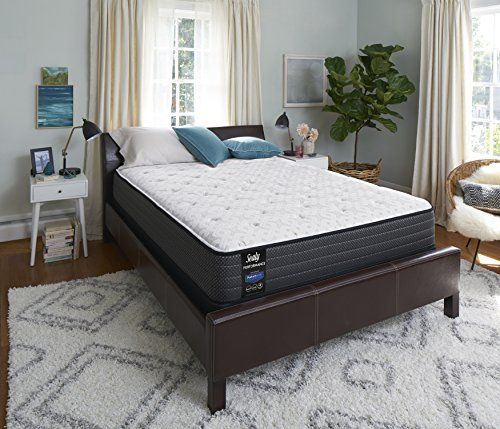 Sealy Response Performance 12-Inch Plush Tight Top Mattress, Queen, Made in USA, 10 Year Warranty