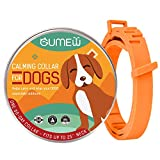 GUMEW Calming Collar for Dogs - Anti Anxiety, Adjustable Pheromone Calm Collars - Fits All Small, Medium and Large Dog to Relieve Natural Stress, Fireworks Anxiety, Calming Aid [2020 Version Updated]
