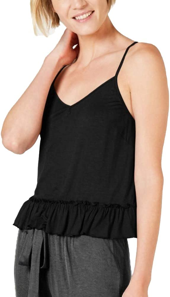 I.N.C. International Concepts Women's Pajama Year-end annual account Max 45% OFF Knit Flounce Ruffle