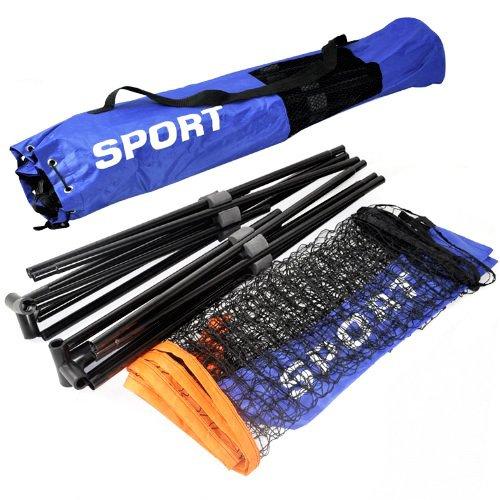 Oypla Small 3m Adjustable Foldable Badminton Tennis Volleyball Net