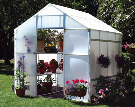 "Solexx Garden Master Greenhouse 8' X 24' X 8'9"" - 5mm"