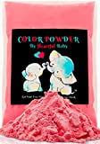 Heartful Baby Gender Reveal Party Supplies - 4lb Pink Color Powder 4 lbs Bag -Free Ebook- Girl She Her Announcement Holi Festival Colored Powdered Smoke Bomb - Car Exhaust Burnout - 5k Fun Run Rosado