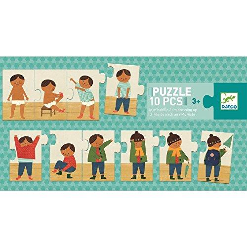Djeco Duo/Trio Puzzle Ich ziehe mich an ab 3 Jahren