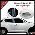 Juke mit Keyless Entry 2010 Chrom Türgriffe Blenden Edelstahl