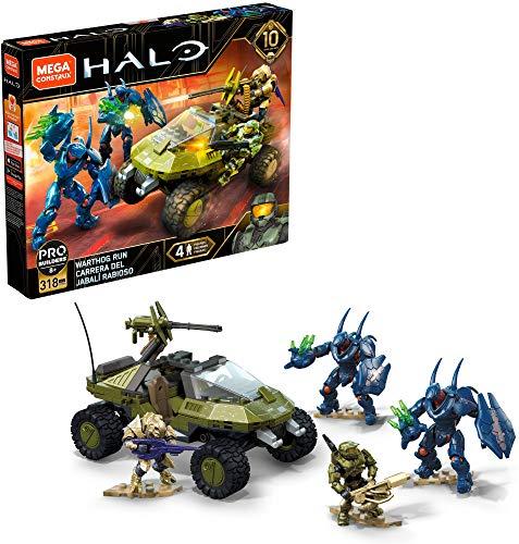Mega Construx - Halo GFT55 - UNSC Warthog Run - 10 Jahre Edition