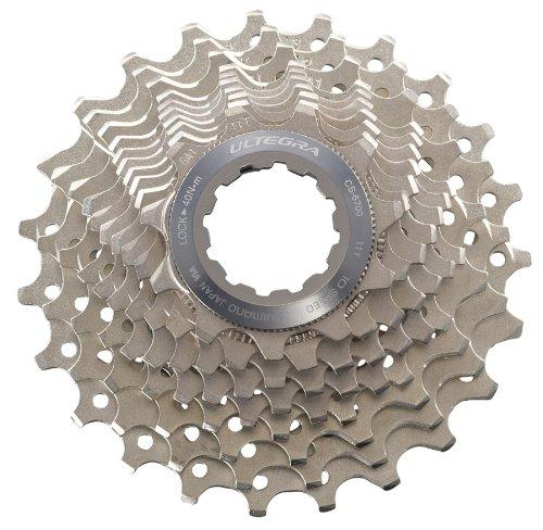 SHIMANO Fahrrad cs-6700Ultegra Kassette (10-Fach), Unisex, Silber, 11/25T