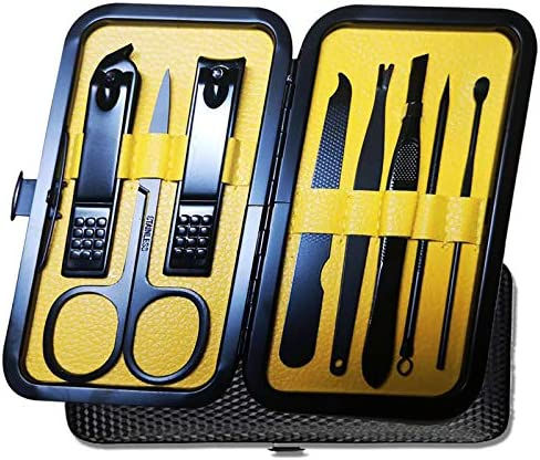 Manicure Set Pedicure Kit Nail Clippers Set 8 in 1 n Stainless Steel Cutter File Sharp Scissors product image
