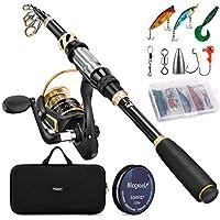 Magreel Telescopic Fishing Rod and Reel Combo Set
