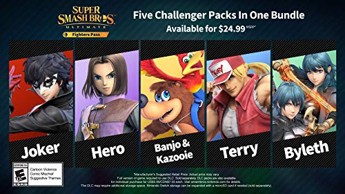 Super Smash Bros. Ultimate Fighter Pass DLC - Nintendo Switch [Digital...