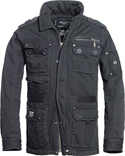 Brandit Platinum Vintage Männer Winterjacke schwarz L