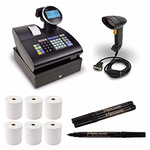 Royal Alpha Cash Register (1100ML) with Handheld Barcode Laser Scanner Bundle