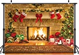 ★【Package】:1PCS 12x10ft; Christmas Photography Backdrop ,Stand,Pole Pocket or Clips NOT Included. ★ Material: Vinyl fabric.High-resolution digital print with eye-catching details and lifelike colors backdrop.Seamless,Lightweight,Durable,Easy Storage ...