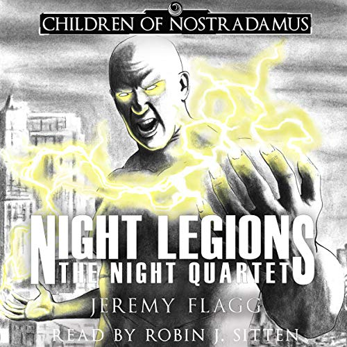 Night Legions audiobook cover art