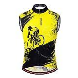 MLSice Jersey de ciclismo sin mangas para hombres M