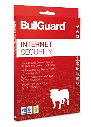 BullGuard Internet Security 2021 / 2022 - 3 User / 1 Jahr - Download-Version für Windows Mac Android