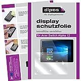dipos I 2X Schutzfolie klar kompatibel mit Acer Switch Alpha 12 Folie Bildschirmschutzfolie