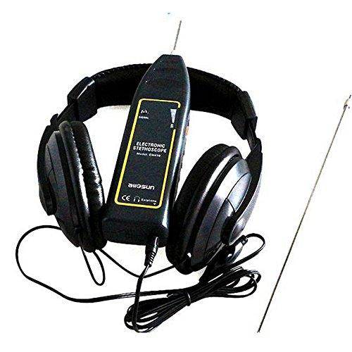GOFORJUMP Estetoscopio electrónico automotriz EM410, Motor automotriz y detectores anormales del Sonido del Motor. Repare la Mejor Herramienta para el automóvil