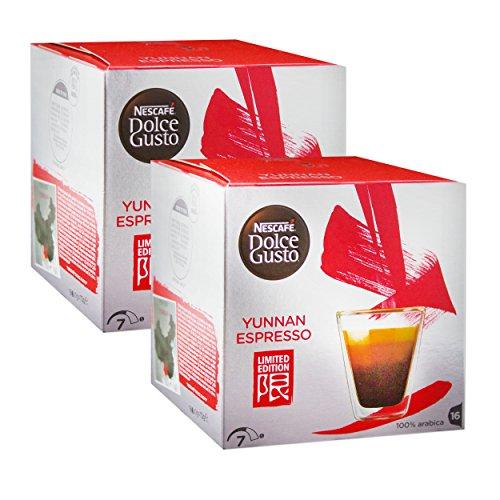 Nescafe Dolce Gusto Yunnan Espresso Coffee, Limited Edition, 32 Capsules