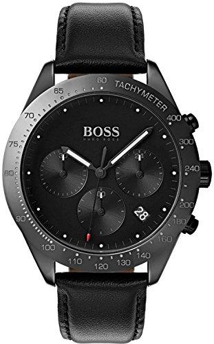 Hugo Boss 1513590 Talent - Reloj para hombre, cerámica, 42 mm, color negro