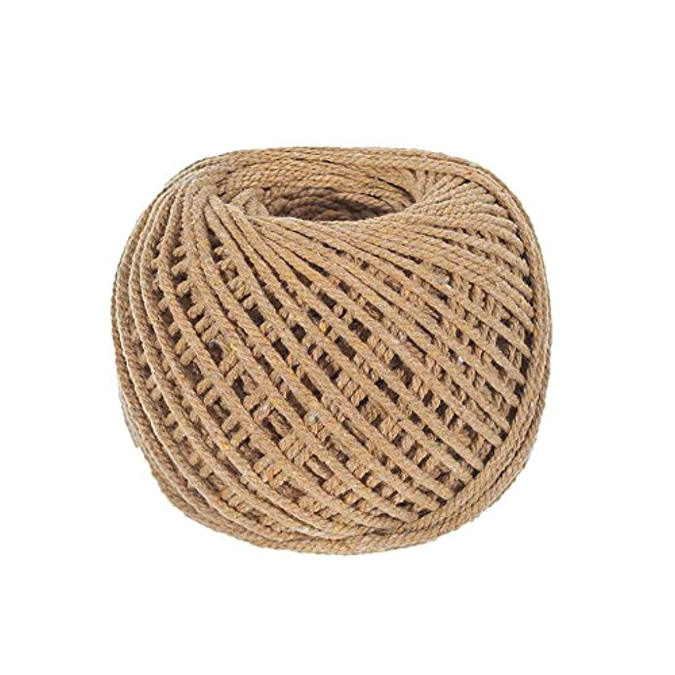 Craft County Soft DIY Crochet, Knitting, and Macramé Cotton Rope – Variety of Colors – Great for Handmade Decorations, Wall Hangings, Plant Hangers, and Dream Catchers