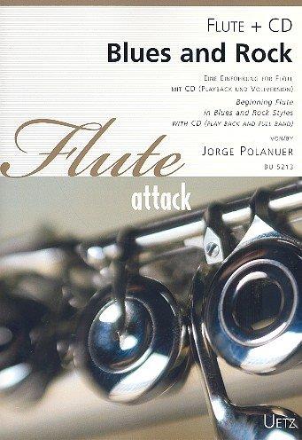 Blauw en rok (+CD): voor fluit