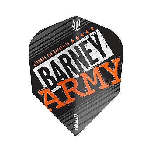 Target Dartpfeile für Babys, Barney Army Flight – 3 Stück, Schwarz, Nr. 6