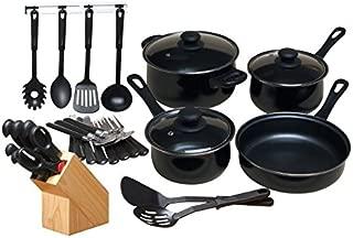 gibson home 32 piece chef kitchen set