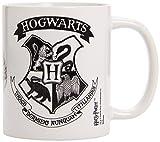 Harry Potter - Taza Hogwarts Crest Black, 320ml