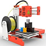 X1 3D Printer Mini Desktop Kit for Beginners Kids Teens 3D Printer with PLA Filament Magnetic Removable Plate USB Cable TF Card Max Print Speed 40MM/s Size 100 x 100 x 100MM 10M 1.75mm