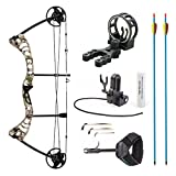 Leader Accessories Compound Bow 30-55lbs Archery Hunting Equipment with Max Speed...