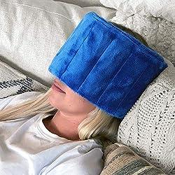Huggaroo mask for migraines