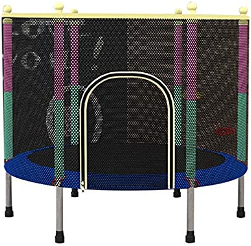 Trampoline 55-Zoll-Haushalt-Innenaufpraller-Bett mit Schutznetz-tragbarem Kind springen Trampoline, die Gewicht 385Lbs Laden