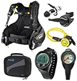 Oceanic Scuba Diving Gear Equipment Package, SM