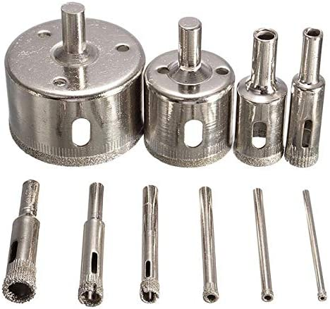 Drill Bits 10Pcs Diamond Coated Hole 3-50mm San Jose Mall Bit High order Set Saw Sa